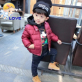 SL-198 High Quality Children Full Sleeve Warm Down Jacket for Boys Clothes Kids Winter Jackets Boy Winter Zipper Coat Parkas