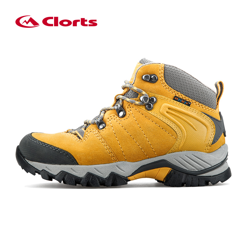 Clorts/Уличная обувь, женская зимняя непромокаемая обувь из натуральной кожи, походные ботинки, женская горная обувь, военные ботинки, HKM-822