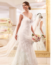 Vestido De Noiva Sereia 2015 Sexy Lace Backless Wedding Dresses Mermaid Vintage Dress Bride Casamento