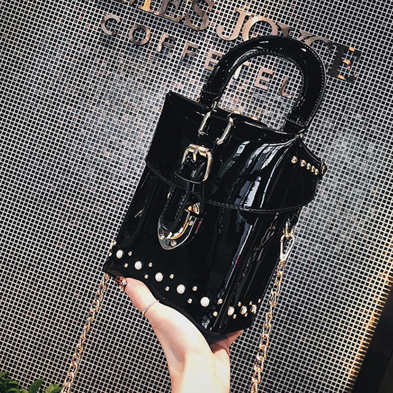 Borse Crossbody Messenger Black Diamante Le Per Mini Donne brown casella green Bag Di Beau wHqtgt