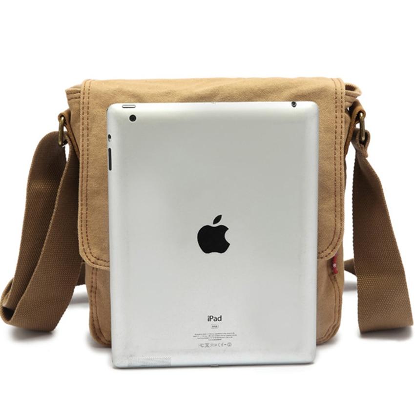 Thick canvas bag high quality men messenger bags fashion shoulder bags brand men bag