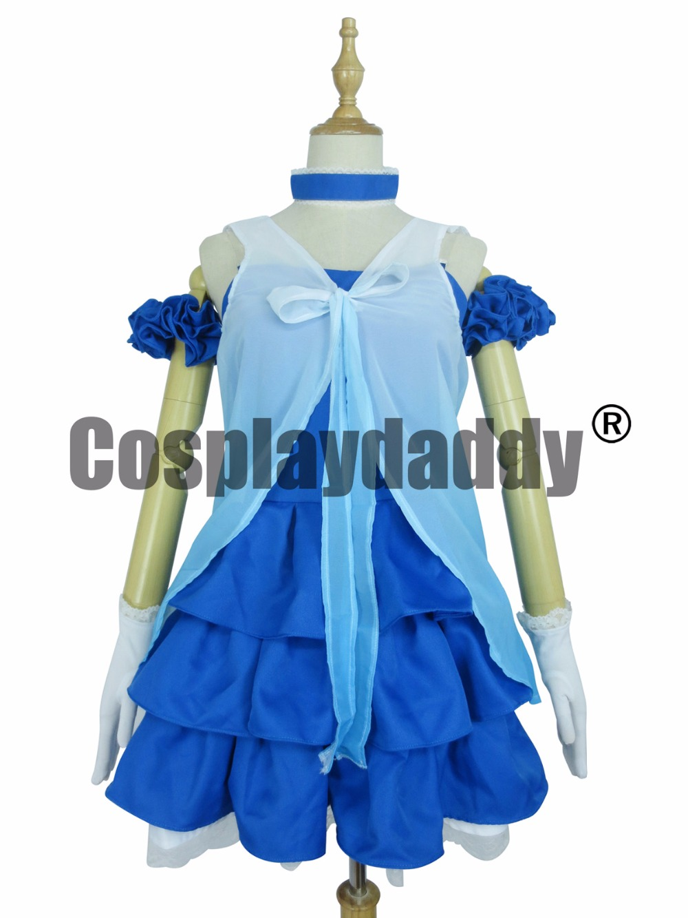 Love Live! Yume no tobira Door of Dreams Umi Sonoda Cosplay Costume  F008