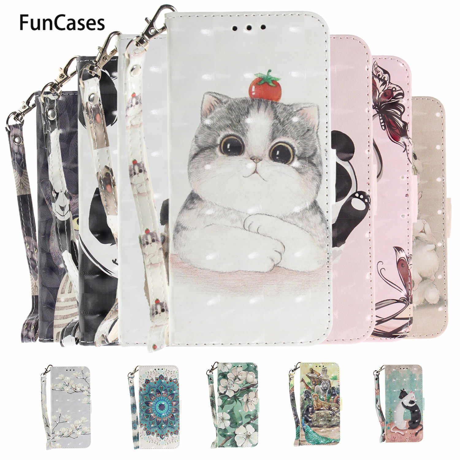 Tiger PU Leather Flip Phone Bag For etui Samsung A5 2017 Caso Phone Bag Case Phone Case sFor Samsung Galaxy cellular A520