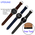 Quality Leather Band For Watch 20mm22mm For Samsung Gear S2/moto 360 2nd/Ticwatch 2 Replace Strap Multi-color