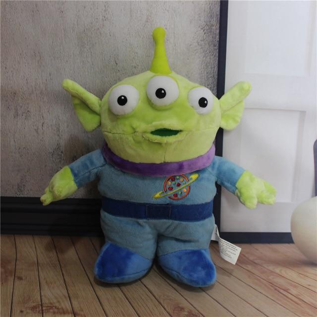 1pcs 30CM Original Toy Story Alien Toy Plush Alien Figure Doll ... 0cbf782a0ea