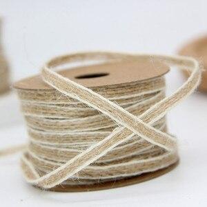 Image 3 - 10 м/рулон, джутовая лента для рукоделия