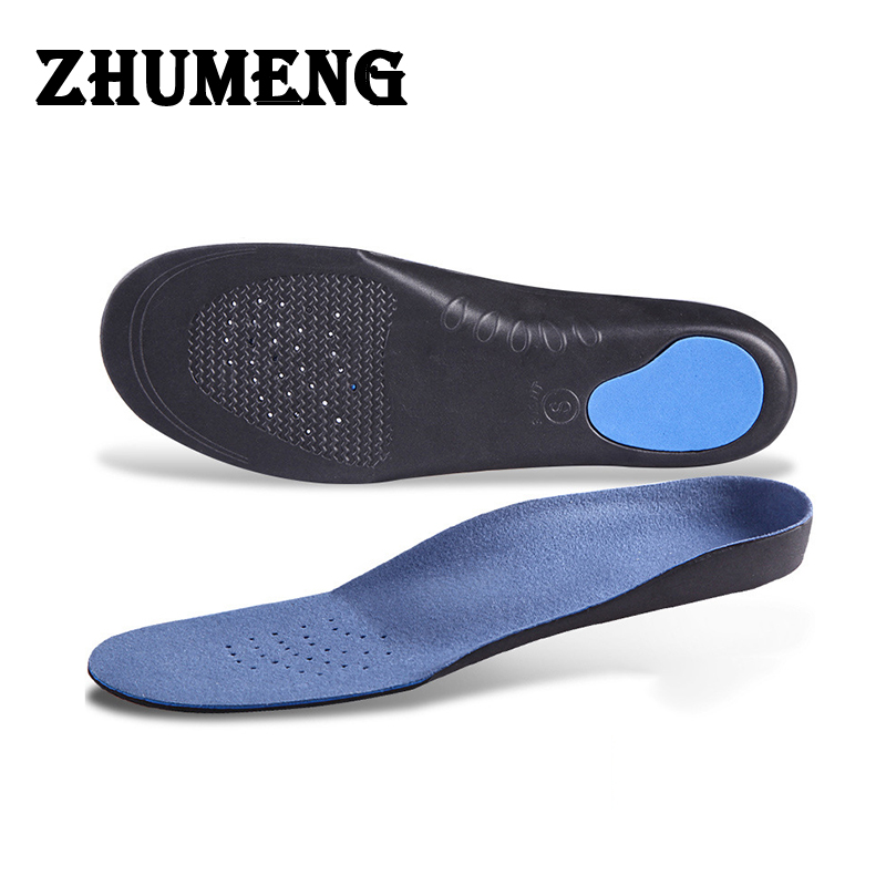 EVA Shocker Flat Arch Support Orthotics Orthopedic Insoles Foot Care for Men Women Insoles silicone mat Shoes Silicone Insole