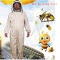 Новый 2019 Пчеловодство куртка вуаль набор анти-пчела защитная одежда Смок оборудование принадлежности Пчеловодство костюм куртка + брюки