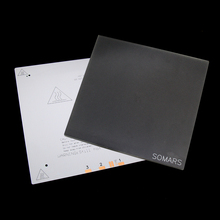 3D Printer Heat Bed 265x265mm+Hot Bed Glass 265x265mm+special coated printing plate