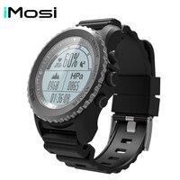 Imosi S968 Спорт Смарт часы IP68 Водонепроницаемый сна монитор сердечного ритма барометр, термометр альтиметр шагомер gps Смарт часы