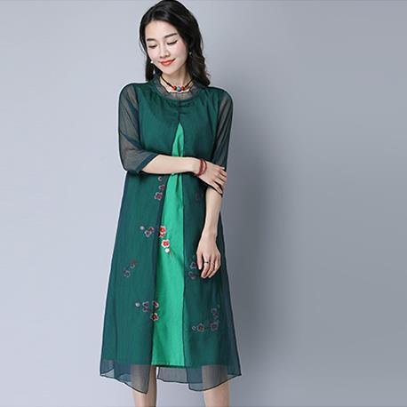 Long dress ethnic quarters