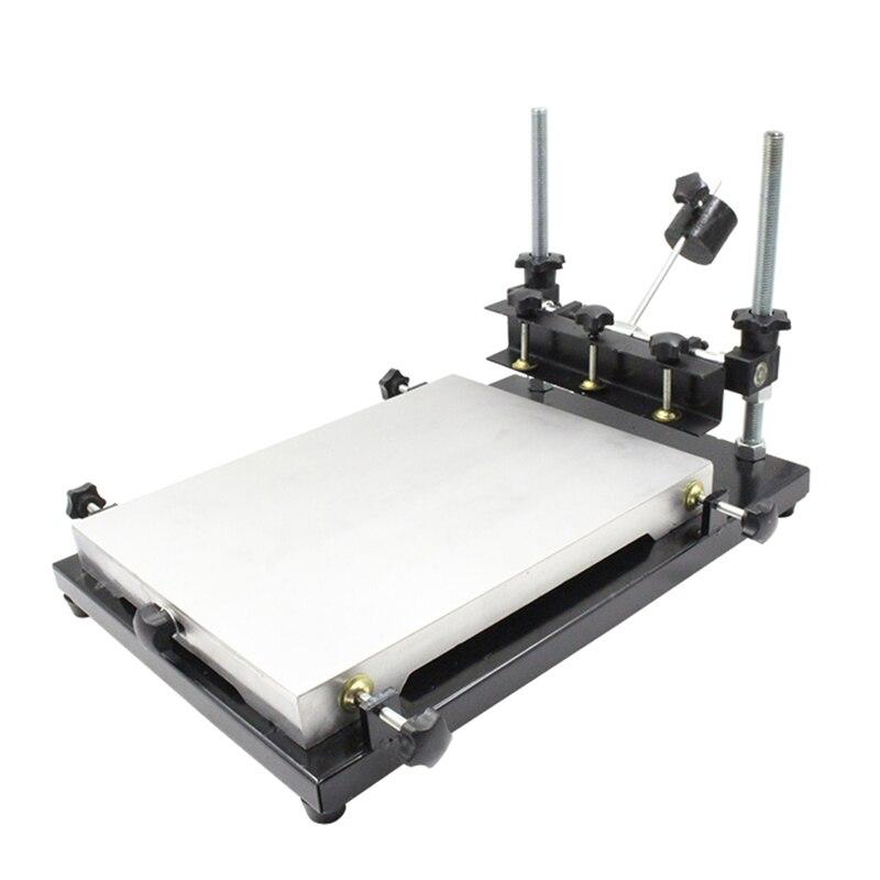 Manuale della stampante schermo Serigrafia Macchina SMT pasta saldante handprint da tavolo YManuale della stampante schermo Serigrafia Macchina SMT pasta saldante handprint da tavolo Y