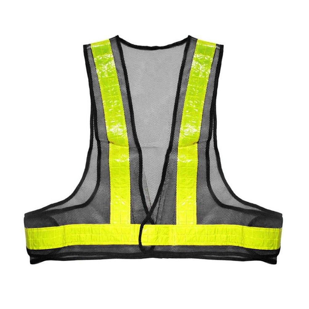 Adaptable Zichtbaarheid Beschermende Gear Parking Vest Mesh Stof Werkkleding Reflecterende Vest Veiligheid Tops Unisex Strepen Security Verkeer