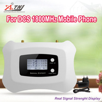 FREE SHIPPING Special OFFER New Fashion Professional 1800mhz GSM Mobile Signal Booster Repeater With LCD DISPLAY