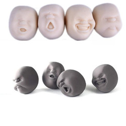 New Humorous Face Top Anti-stress Helper Stress Pressure Reliver Vent Ball Kids Children Gift Toy wholesale best gift