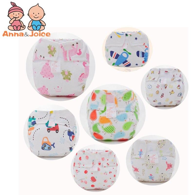 1 Pcs Retail Reusable Baby Nappy Cloth Diapers Soft Bamboo Fibre Double-deck Leak-proof Cotton Nappy