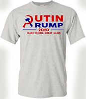 Trump T Shirt Putin Trump 2020 Make Russia Great Again Anti President Impeach Round StyleTees Custom Jersey fear cosplay tshirt