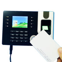 TCP IP Biometric Fingerprint Rfid Card Time Clock Recorder Attendance Employee Electronic Punch Card Reader Machine