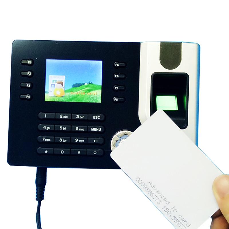 TCP/IP Biometric Fingerprint & Rfid Card Time Clock Recorder Attendance Employee Electronic Punch Card Reader Machine Realand