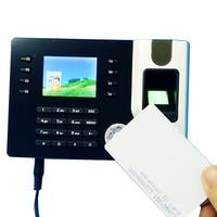 TCP IP Biometric Fingerprint Rfid Card Time Clock Recorder Attendance Employee Electronic Punch Card Reader Machine