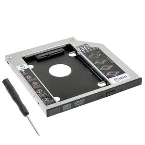9,5mm SATA 2nd SSD HDD Caddy para Hp Probook 640, 645, 650, 655 G0 G1 G2 240 G2 242 G2 Disco Duro Caddy