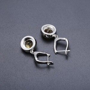 Image 5 - GEMS BALLETT Natürliche Citrine Klassische Schmuck Set 925 Sterling Silber Ohrringe Ring Set Für Frauen Hochzeit Geschenk Edlen Schmuck Neue