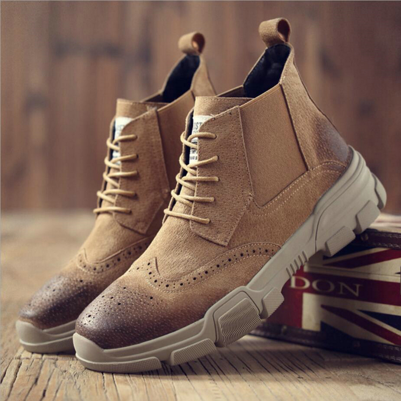 b3af510cdcf9 Men s Desert Boots  Army Casual Tactical Ankle Boots Mens Leather Men  Winter Boots Men Lace-up Shoes Men Combat Boot Military - aliexpress.com -  imall.com