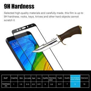 Image 2 - 2PCS Hardness Protective Glass For Xiaomi Redmi 5 Plus / Redmi Note 5 Pro Screen Protector Tempered Glass Redmi Note7 Note 8 Pro