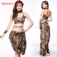 Dancer S Vitality 2017 New Brand Belly Dance Costume Leopard Harness Style Back Opening Wave Wdge