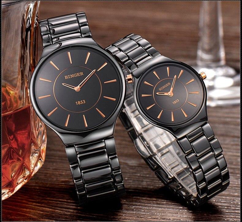 da moda estilo luxo marca relógios de