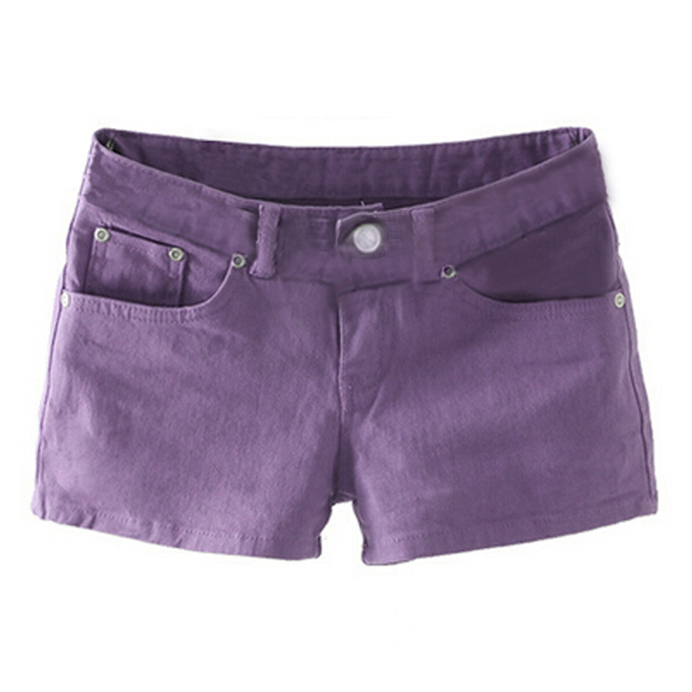 Popular Purple Jean Shorts-Buy Cheap Purple Jean Shorts lots from ...