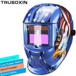 Solar LI <font><b>battery</b></font> automatic darkening TIG MIG MMA MAG KR KC electric welding mask/helmets/welder cap for welding machine