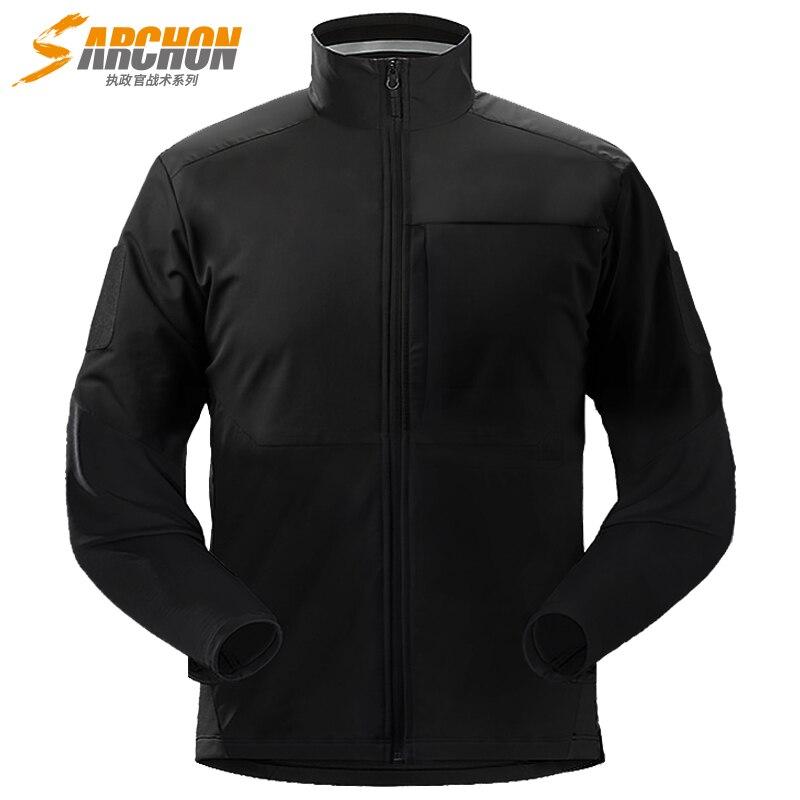 S. archon Assassin militaire veste hommes imperméable coupe-vent tactique vestes printemps automne Combat manteau