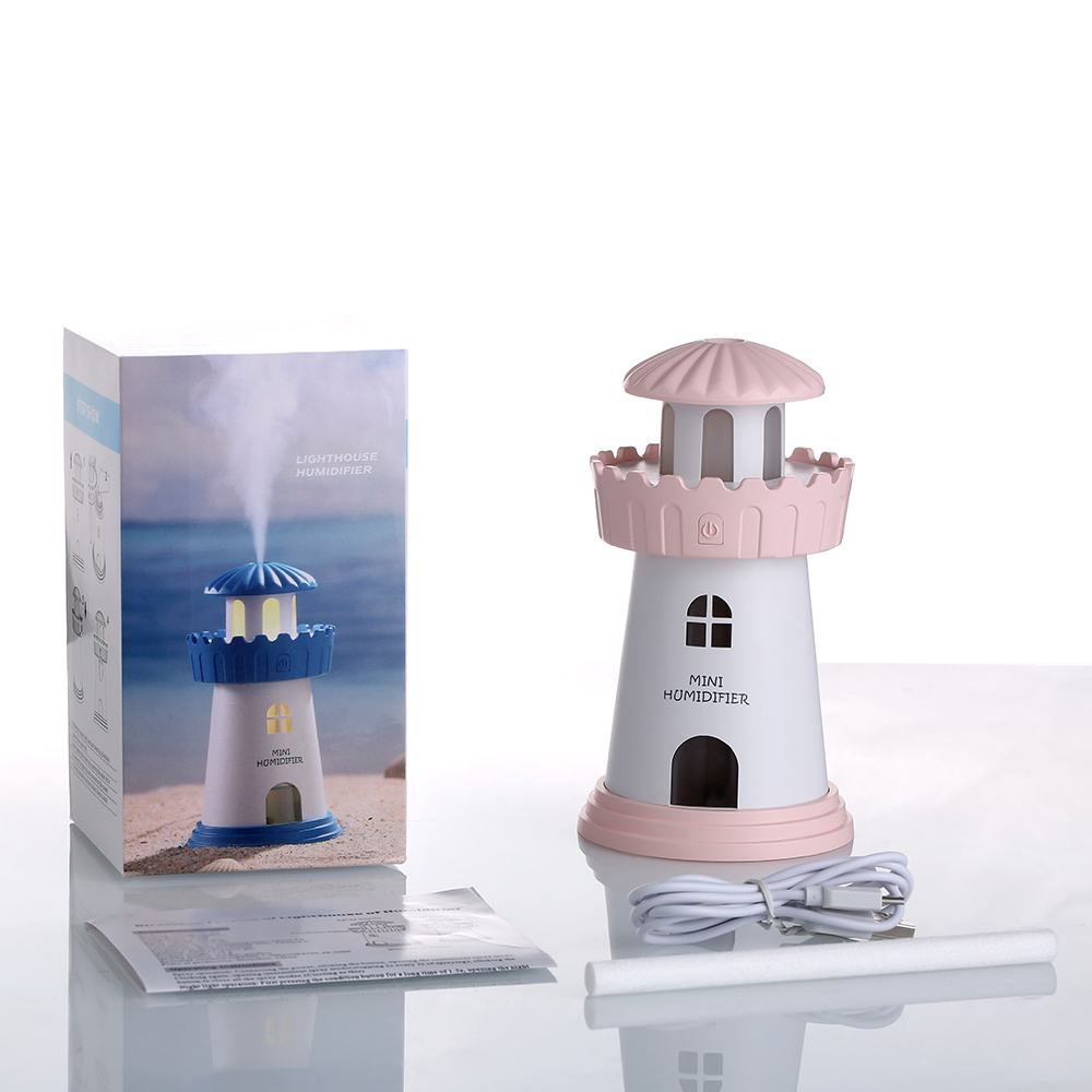medium resolution of 150ml lamp lighthouse humidifier usb led air diffuser purifier atomizer tower essential oil diffuser for home difusor de aroma in humidifiers from home