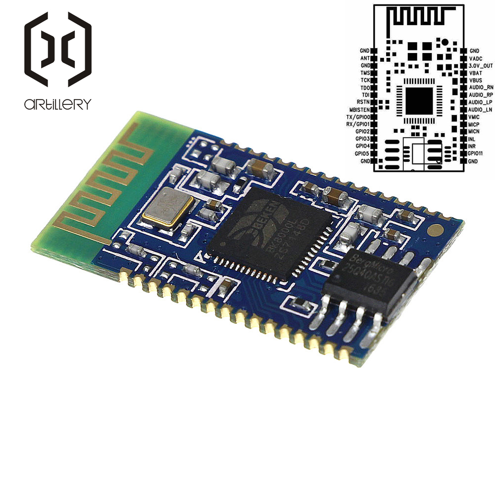 BK8000L Bluetooth Sans Fil Audio Stéréo Module Serial SPP Haut-Parleur Amplificateur À faire soi-même