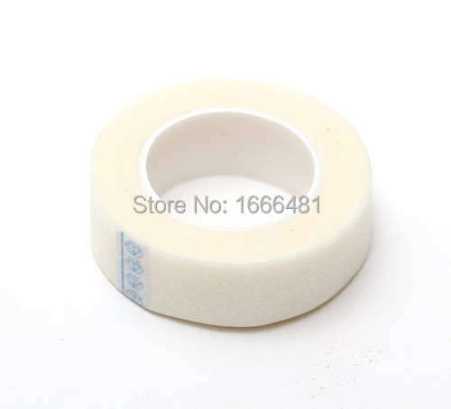 Free Shipping 5  Rolls Professional Eyelashes Extension Micropore Paper Medical Tape