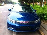 Super Bright Osram Led Chips Daytime Running Lights DRL Fog Lamp Cover For Honda Civic 2012