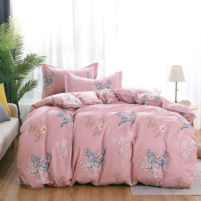Luxurious Graceful Bedding Set export Bed Linen quilt cover Bed Sheet Elegant soft Duvet Cover light pink Best-selling Luxurious Graceful Bedding Set export Bed Linen quilt cover Bed Sheet Elegant soft Duvet Cover light pink Best-selling