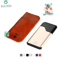 Hot Suorin Air Starter Kit with Built in 400mAh Battery with Free Gift Dustproof Leather Cover Max 15W Output Vape Kit Pod Mod