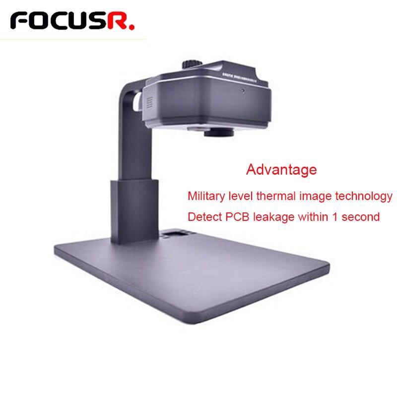 FOCUSR. Diagnostic de vitesse de caméra thermique détection de carte mère de téléphone portable réparation rapide