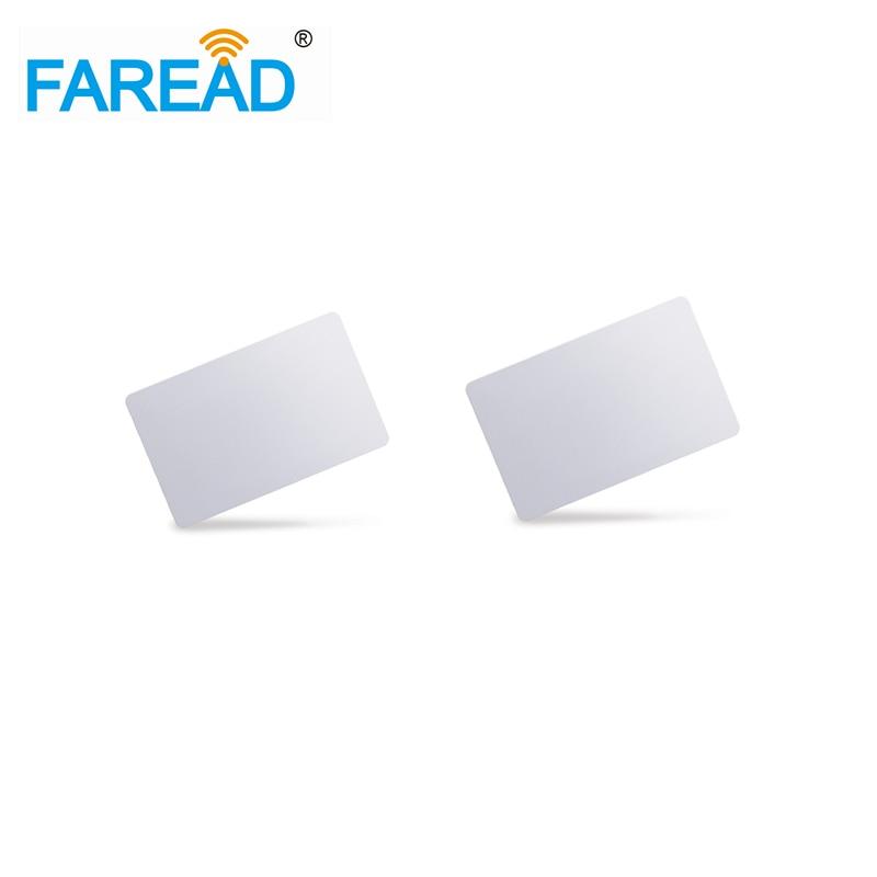 Free Shipping   PVC Rfid Smart Card 125khz EM4305  86x54x1.8mm