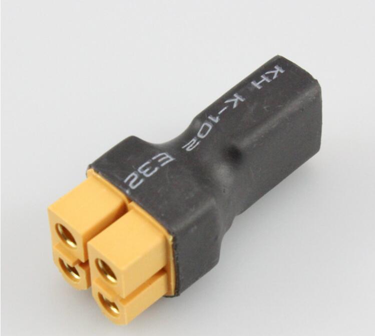 50 pcs = a lot XT60 female to 2 pcs XT60 male in parallel connection