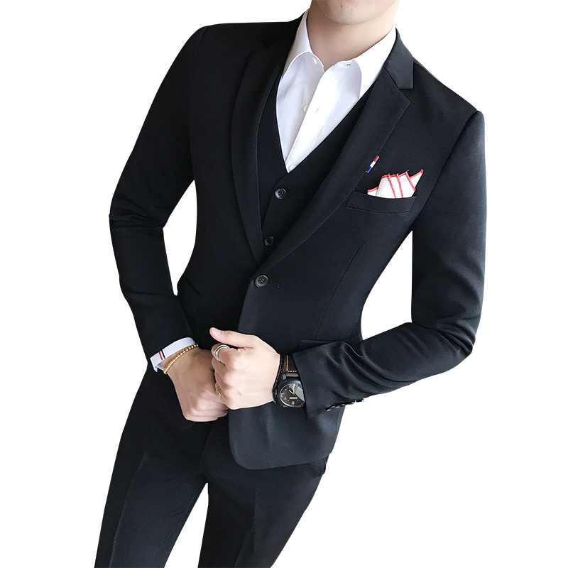 9d855e8697f7 Royal Blue Mens Suit Solid Color Mens Classic Suits Red Prom Suit Black  White Abiti Uomo Slim Fit S 3xl Vestito Uomo Smoking-in Suits from Men s  Clothing on ...