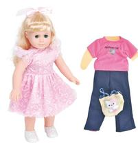 18 inch American Style Girll Doll Eyes Movable Princess Toy  Models