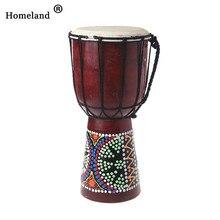 Аксессуары для барабана 30 см Профессиональный Африканский Djembe барабан Bongo деревянный хороший звук музыкальный инструмент