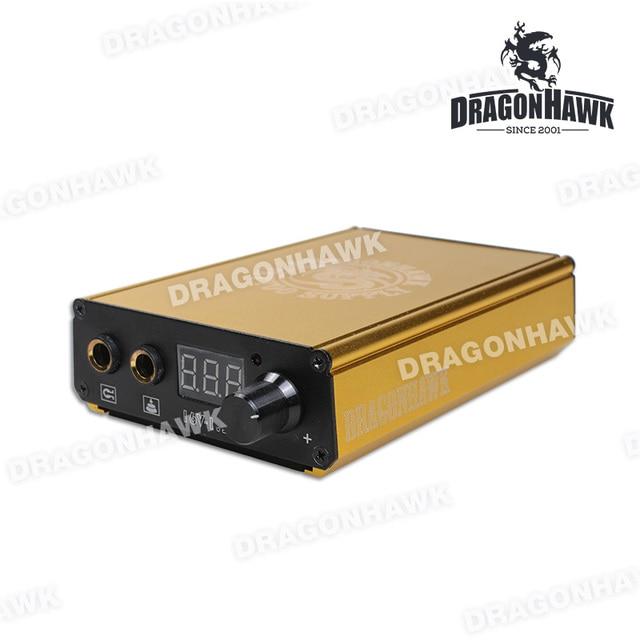 New Design  Battery Charge Power Box   Dragonhawk Lcd Magnet Tattoo Power Machine Gun Power Supply