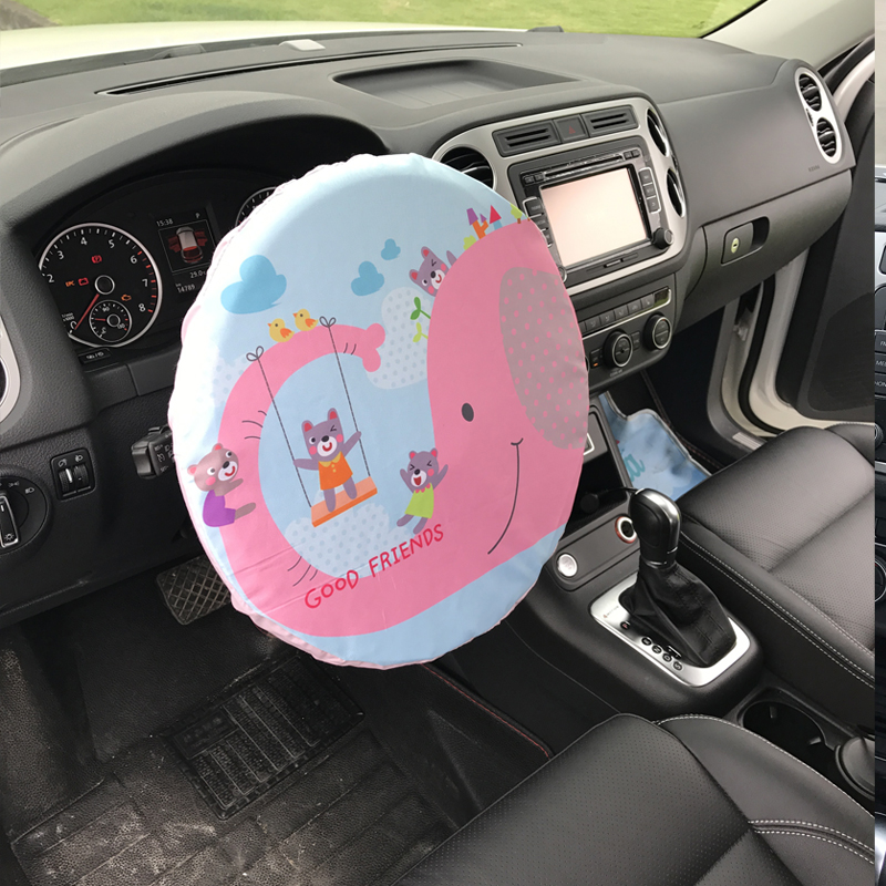 Car Steering Wheel Sunshade Cover Ultraviolet Rays Sun Shade Protector Wheel Cover Steering Wheel Cover          Car Accessories(China)
