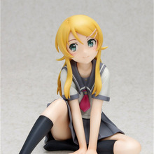 купить Haocaitoy Wave Doll Kousaka kirino Sitting   Ver Figure PVC Hot Model Collectible Action Figure Anime Cartoon Model For Gift онлайн