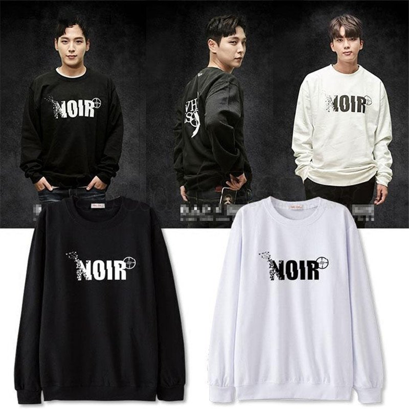 Mainlead Harajuku KPOP NOIR Sweatershirt Unisex B.A.P ZELO Daehyun Pullover