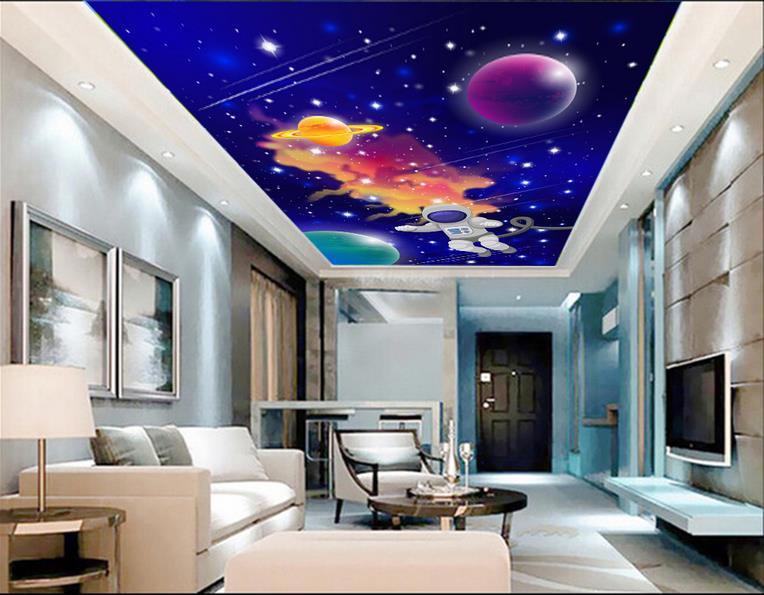 Custom 3d Photo Wallpaper Room Mural Universal Member Space